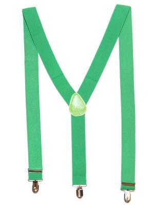 Подтяжки Lola. Цвет: зеленый