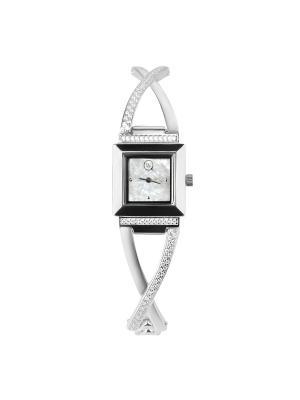 Часы ювелирные коллекция Q-Chic, QWILL, Часовой завод Ника QWILL. Цвет: белый