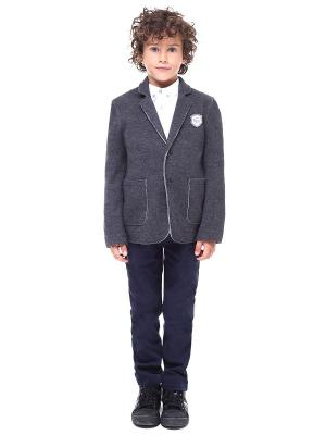 Пиджак Gino de Luka. Цвет: серый меланж