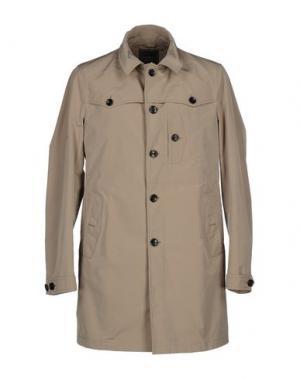 Легкое пальто MARIO MATTEO. Цвет: песочный