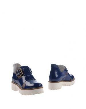 Ботинки LORENZO MARI. Цвет: синий