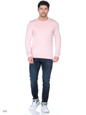 Свитшот TOM TAILOR. Цвет: розовый, серый