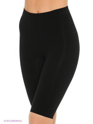 Корректирующие удлиненные шорты Bodyeffect. Цвет: черный