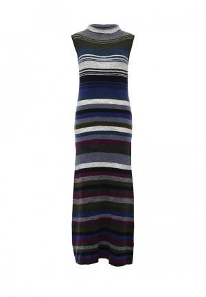 Платье United Colors of Benetton. Цвет: разноцветный