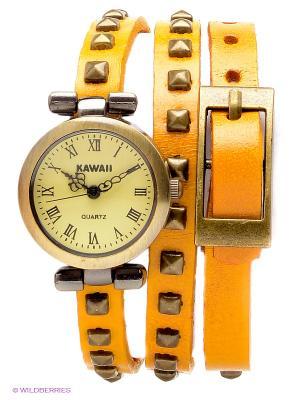 Часы Kawaii Factory. Цвет: желтый