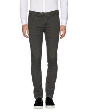 Повседневные брюки ZERO. Цвет: стальной серый
