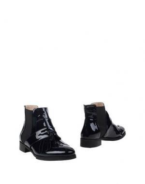 Полусапоги и высокие ботинки GIORDANA F.. Цвет: темно-синий
