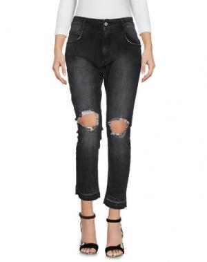 Джинсовые брюки SHIKI. Цвет: черный