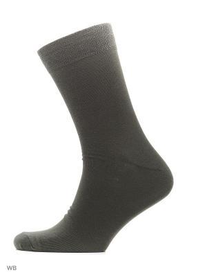 Носки хипстерские (2 пары) HOSIERY. Цвет: хаки