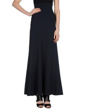 Длинная юбка CORTANA. Цвет: темно-синий