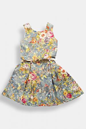 Платье Lilax. Цвет: голубой