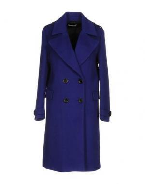Пальто WEILI ZHENG. Цвет: ярко-синий