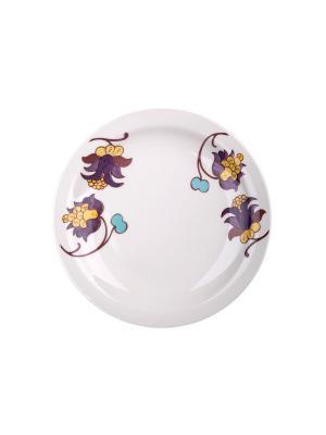 Набор тарелок обеденных МИЛИ 26 см 6 шт Biona. Цвет: белый