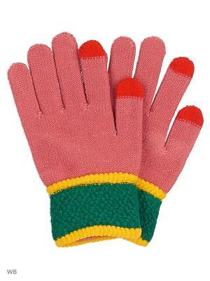 Перчатки для сенсорных экранов HOBBY LINE. Цвет: розовый