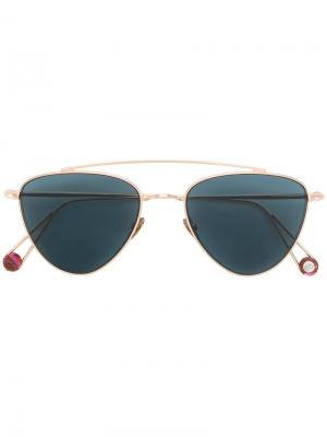 Солнцезащитные очки Place des Pyramides Ahlem. Цвет: металлический