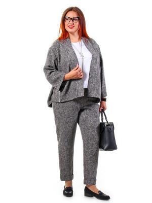 Жакет Luxury Plus. Цвет: серый