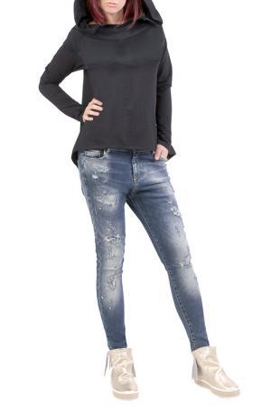 Блуза JUNONA. Цвет: черный