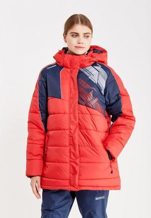 Куртка утепленная Forward. Цвет: красный