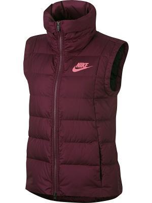 Жилет W NSW DWN FILL VEST Nike. Цвет: фиолетовый