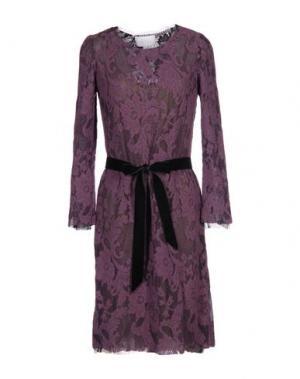 Платье до колена LUISA BECCARIA. Цвет: фиолетовый