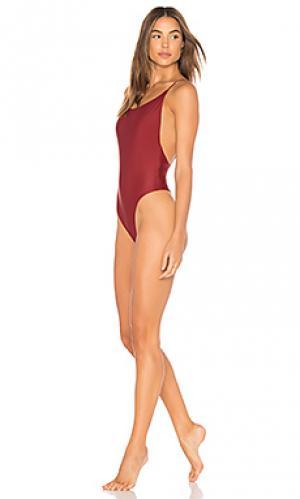Слитный купальник lola Mia Marcelle. Цвет: красный