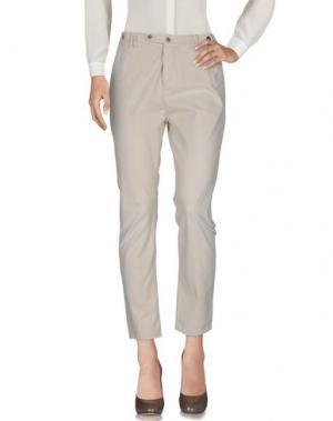 Повседневные брюки JFOUR. Цвет: бежевый