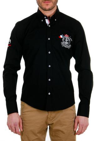 Рубашка Pontto. Цвет: black, red, white