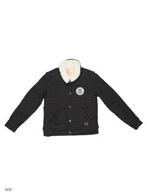 Куртка ROXY. Цвет: серый, светло-серый, серый меланж