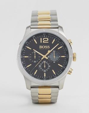 BOSS Наручные часы By Hugo 1513529. Цвет: серебряный
