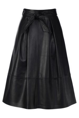Кожаная юбка Madeleine. Цвет: schwarz