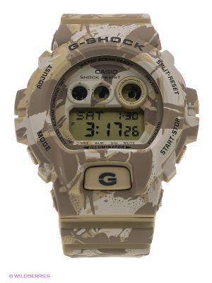 Часы G-Shock GD-X6900MC-5E CASIO. Цвет: коричневый