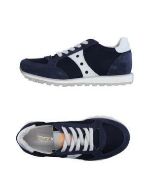 Низкие кеды и кроссовки JARRETT. Цвет: темно-синий