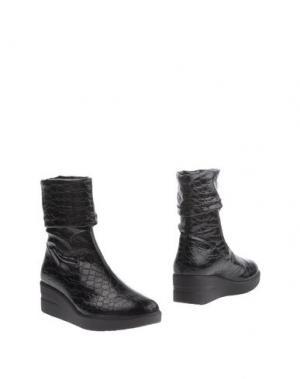 Полусапоги и высокие ботинки RUCO LINE. Цвет: темно-коричневый
