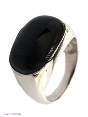 Ювелирное кольцо Art Silver. Цвет: черный
