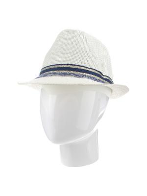 Шляпа Gusachi. Цвет: молочный, синий