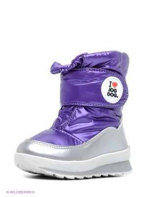 Сапоги Jog Dog. Цвет: фиолетовый