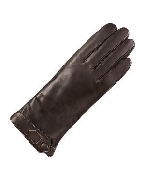 Перчатки ESMEE. Цвет: коричневый