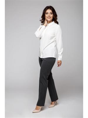 Блузка ELNY. Цвет: белый