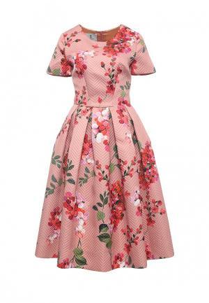 Платье Lolita Shonidi. Цвет: розовый