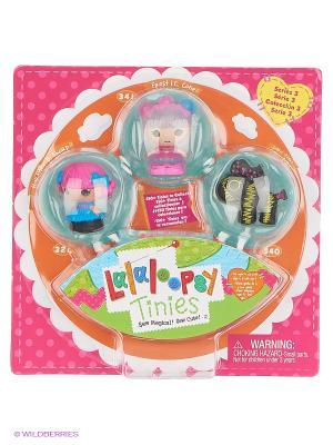 Игрушка кукла Малютки Lalaloopsy. Цвет: голубой, розовый, черный