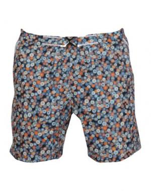 Шорты для плавания MOSAIQUE. Цвет: темно-синий