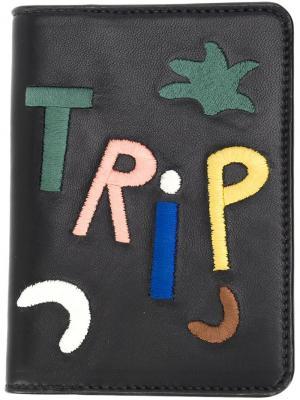 Обложка для паспорта Trip Lizzie Fortunato Jewels. Цвет: чёрный