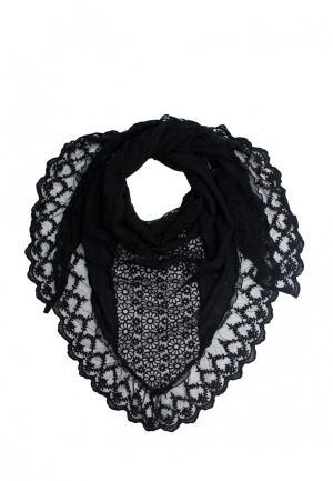 Платок Le Motif Couture. Цвет: черный