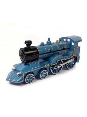 Поезд Азбука Тойс. Цвет: синий