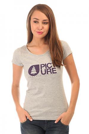 Футболка женская  Basement Tshirt Grey Picture Organic. Цвет: серый