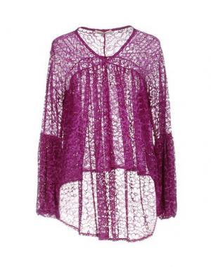Блузка GIORGIA & JOHNS. Цвет: фиолетовый