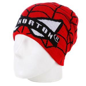 Шапка носок  Patrick Spiderman Red Bat Norton. Цвет: красный