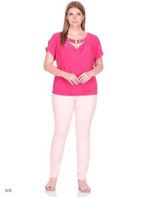 Блузка МариЧи. Цвет: розовый