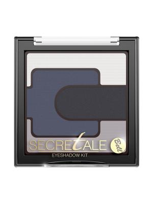 Тени Для Век Разноцветные Secretale Eyeshadow Kit Тон 3 Bell. Цвет: серый