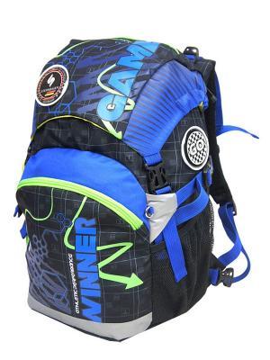 Рюкзак STERNBAUER. Цвет: синий, черный